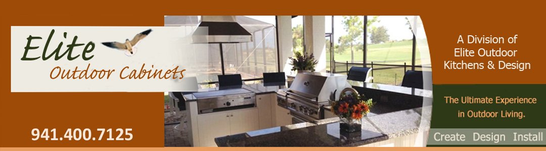 Elite Outdoor Cabinets from Elite Outdoor Kitchens and Design