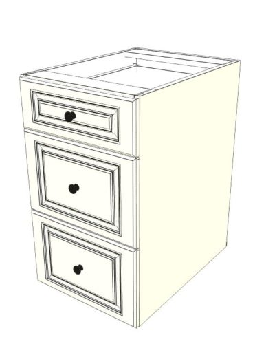 Outdoor Kitchen Cabinet with 3 Drawers