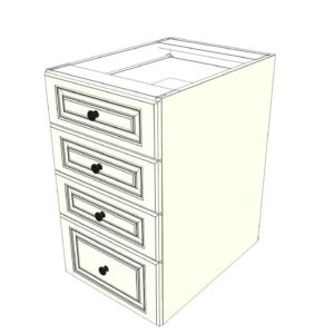 Outdoor Kitchen Cabinet Base Cabinet with 4 Drawers