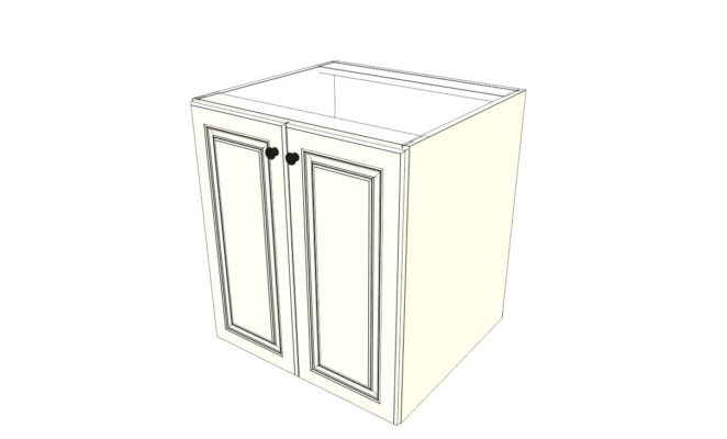 Outdoor Kitchen Base Cabinet with Two Doors