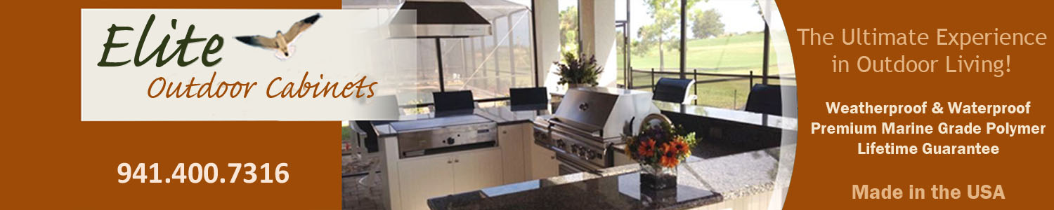 Elite Outdoor Cabinets - Cabinets for Outdoor Kitchens